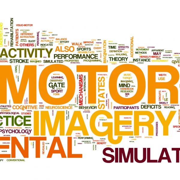 Motor Activity collage of word concepts